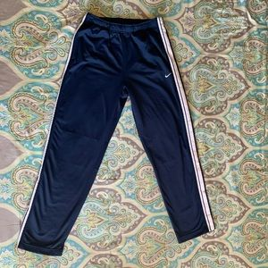 Nike snap button warm up pants